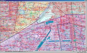 通信業の線路設備管理・回線設備管理システム画像01